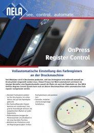 OnPress Register Control - Nela