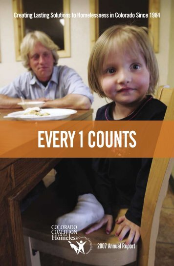 2007 Annual Report - Colorado Coalition for the Homeless