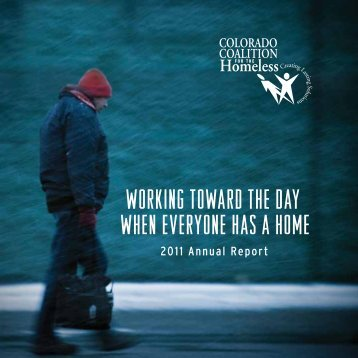 2011 Annual Report - Colorado Coalition for the Homeless