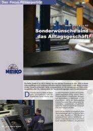 Focus Rostfrei - Neiko GmbH & Co. KG