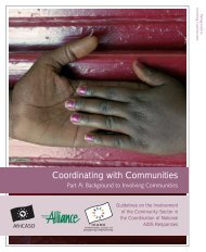 Coordinating with Communities - icaso