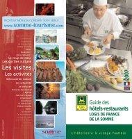 Télécharger la brochure 2007 des Logis de ... - Somme Tourisme