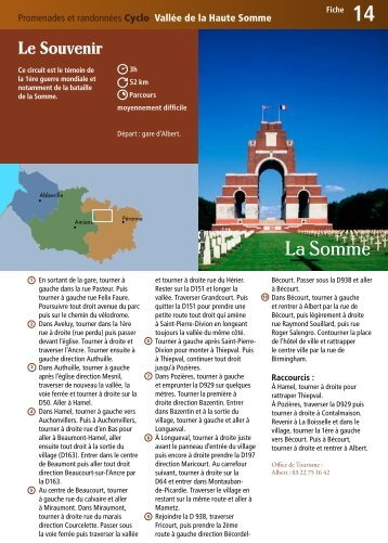 Fiche 14 - Somme Tourisme