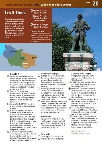 Fiche 20 - Somme Tourisme