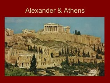 Alexander & Athens
