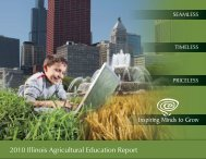 2010 Illinois Agricultural Education Report