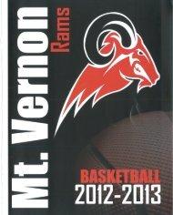 2013 -- Varsity Basketball Program - Mount Vernon Township High ...