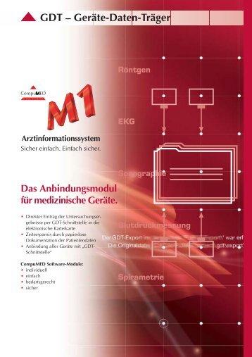 Faltblatt GDT
