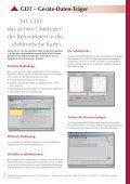Faltblatt GDT - Seite 2