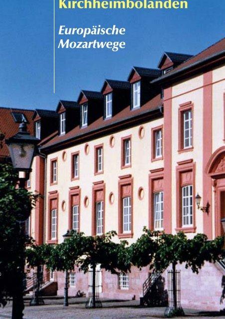 Wolfgang Amadeus Mozart - Verbandsgemeinde Kirchheimbolanden