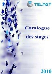 Catalogue de stages - Telnet