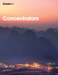 Concentrators - Ausenco