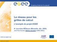Présentations - JRES 2005