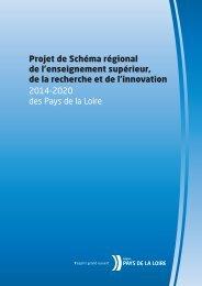 Projet de Schéma régional de l'enseignement supérieur ... - L'UNAM