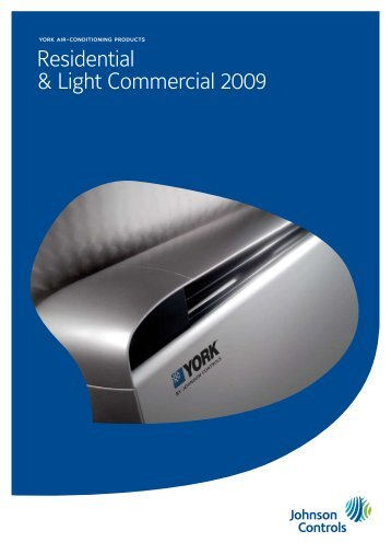 Residential & Light Commercial 2009 - Tech-System