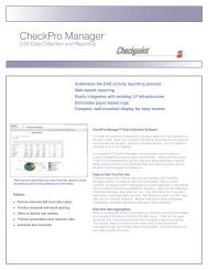 CheckPro Manager Data Management Software ... - United Label