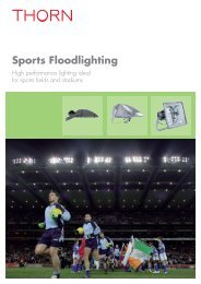 Sports Floodlighting - THORN Lighting - thornlighting.ae
