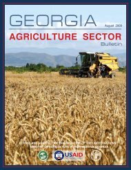 AGRICULTURE SECTOR - usaid