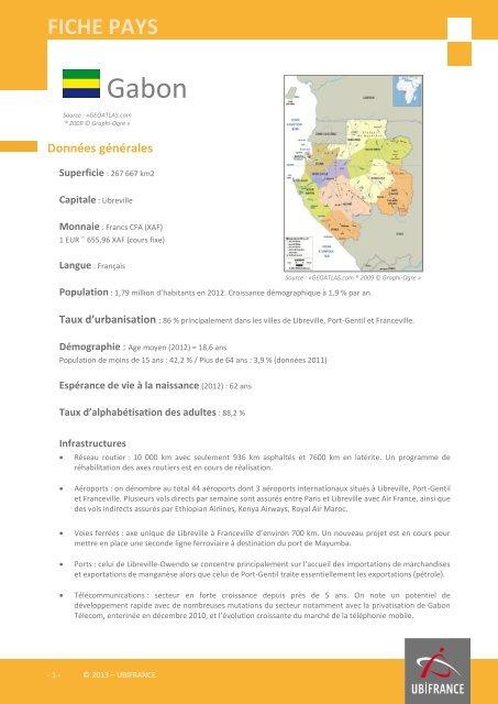 FICHE PAYS - ILE-DE-FRANCE INTERNATIONAL