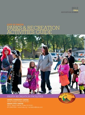 Parks & recreation activities Guide - City of Fruita