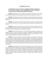 1 ORDINANCE NO. 2013-11 AN ORDINANCE OF ... - City of Fruita