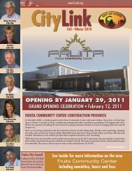 CityLink 2010-4.pdf - City of Fruita