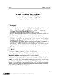 """Projet """"Sécurité informatique"""" - Matthieu Amiguet"""