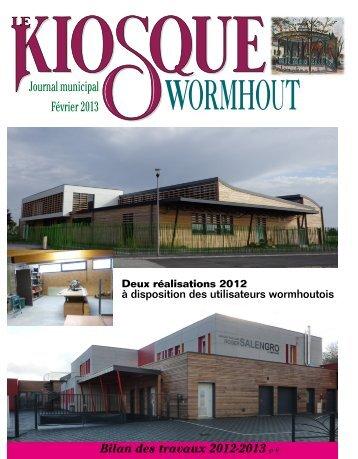 Kiosque de février 2013 - Office municipal de tourisme de Wormhout