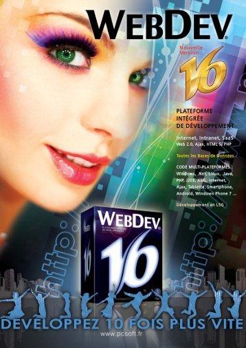 webdev® 16 - Source : www.pcsoft-windev-webdev.com
