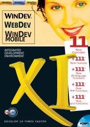project - WINDEV et WEBDEV