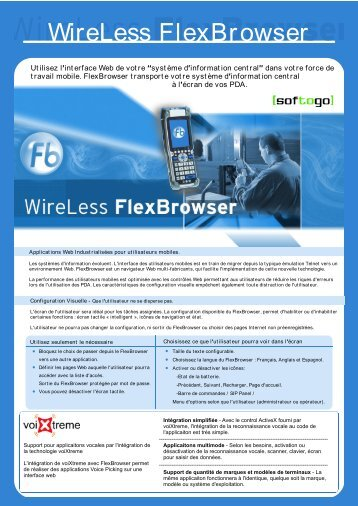 WireLess FlexBrowser - VoiXtreme