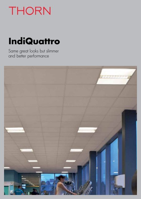 IndiQuattro product brochure - Thorn Lighting
