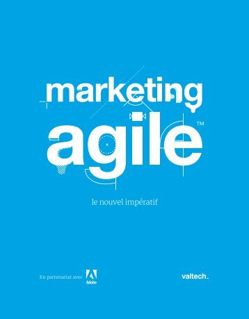 Livre blanc marketing agile - Valtech Training