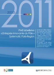 PME labellisées « Entreprise Innovante du Pôle » Systematic Paris ...