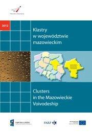 Klastry w województwie mazowieckim Clusters in ... - Portal Innowacji