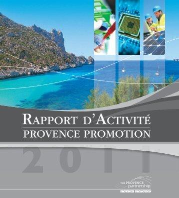 RAPPORT D'ACTIVITÉ - Provence Promotion