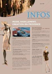 Newsletter Mode et création - Provence Promotion