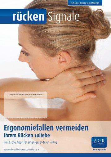 rücken Signale - Aktion Gesunder Rücken eV
