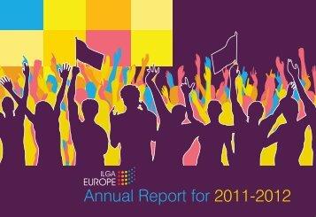 Annual Report for 2011-2012 - ILGA Europe