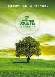 Filter-Müller Imagebroschüre