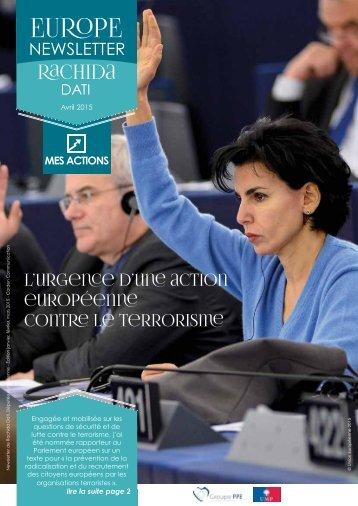 Newsletter-Europe-Rachida-Dati-Avril-2015