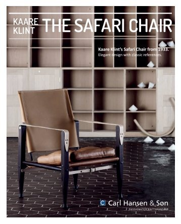 THE SAFARI CHAIR