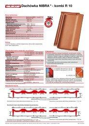 Dachówka NIBRA®- kombi R 10 - Nelskamp
