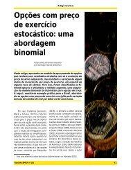 Opções com preço de exercício estocástico: uma ... - José Fajardo