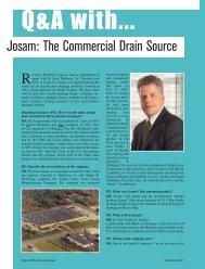 Plumbing Engineer Article - Josam