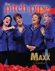 The Pitch Pipe Lite - Sweet Adelines International