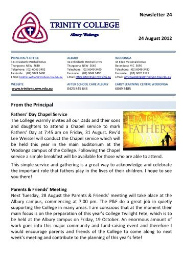 Newsletter 24 Week 5 Term 3.pdf - Trinity College