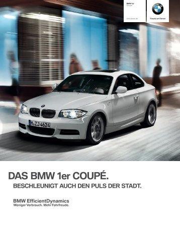 DAS BMW 1er COUPÉ. - BMW Nefzger