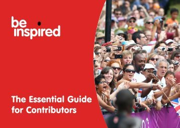 The Essential Guide for Contributors