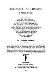 Taylor - Theoretic Arithmetic.pdf - Platonic Philosophy